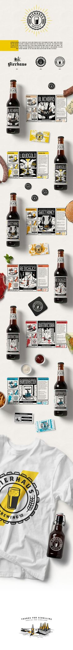 Bierhaus Packaging by Gustavo Zambelli | Fivestar Branding – Design and Branding Agency & Inspiration Gallery