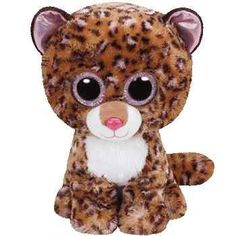 TY Beanie Boos Medium Patches the Leopard Plush Toy Ty Toys f3dcaab80734
