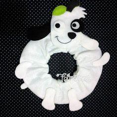 Puppet para lente Doki  www.elo7.com.br/feltrolices www.facebook.com/feltrolices http://feltrolices.blogspot.com.br/