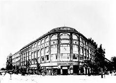 Berlin 1927 Kaufhaus Hertie am Mehringdamm