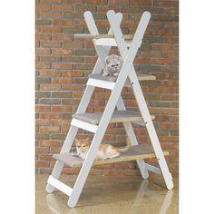 Modern Folding 4 Level Cat Tree   Overstock.com Shopping - The Best Deals on Cat Furniture
