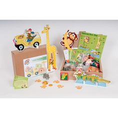 Safari Hunt Party Game - All in One Kit for 6