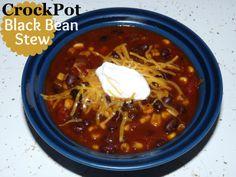 Crockpot Black Bean Mexican Stew