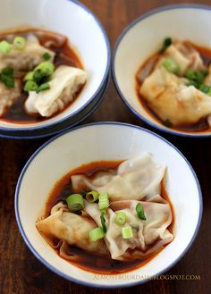 Sichuan Red Oil Wontons. One of my all time favorite!#Repin By:Pinterest++ for iPad#