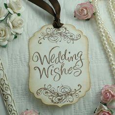 wedding wishing tree ideas   WEDDING IDEAS / Wedding wishes tags, wishing tree