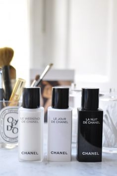 I like this set, my favorite La Nuit, 2nd- Le Weekend, a nice product that you use for 3 days & it's recommended to use nothing else for those 3 days.
