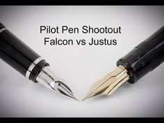 Pilot Pen Shootout: Justus 95 vs Falcon - YouTube