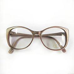 FENDI glasses frames vintage elegant eyewear by LOZZA grey &