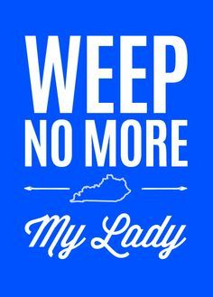 weep no more my lady - Google Search