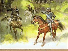 Historical Warrior Illustration Series Part XVI   The Lost Treasure Chest