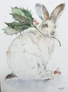 Holet - hollyhare© perhaps she is going to decorate her own Christmas Tree!