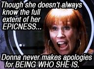 It took the doctor to make Donna realize she was brilliant.