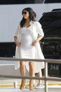 Kim Kardashian Baby Bump Pictures August 2015   POPSUGAR Celebrity