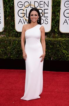 Julia Louis-Dreyfus at the Golden Globes