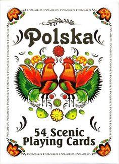 Polish Art Center - Polska Paper Cut Folk Design Playing Cards