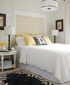 las mejores fotos e ideas para hacer un cabecero de cama original