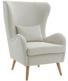 Lounge sessel retro  SalesFever Sessel Loungesessel mit Armlehnen und Wolle bezogen im ...