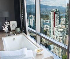 Sky-High Bathroom Style   Photo Gallery: Spa-Like Bathrooms   House & Home   photo Kim Christie