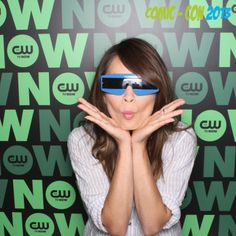 Kristin Kreuk CBS Comic - Con 2013 :))