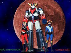 goldorak Actarus Alcor Ulysse 31, Japanese Superheroes, Ufo, Super Robot, Animation, Nostalgia, Darth Vader, Laser, Anime Boys