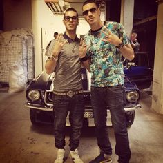 'Giusto un giro' making of: Marracash ed Emis Killa a lavoro sul video
