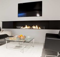 Bio ethanol fireplace by deco flame uk