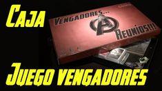 CAJA JUEGO de MESA VENGADORES ENDGAME | Te Digo Cómo Diy Games, Decir No, Avengers, Homemade Tables, Home Made Games, Board Games, The Avengers, Recycling, Cases