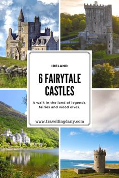 Ireland, the green land of fairies and legends, is home to many castles situated in its luscious countryside. Let's discover some of the most beautiful ones and their story.