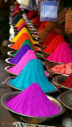 Colours, poudre