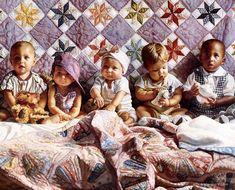 Google Image Result for http://www.arts-wallpapers.com/galleries/SteveHanksArt/images/steve_hanks_-_all_in_a_row_de.jpg