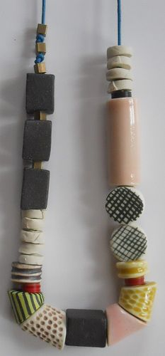 CERAMIC BEADS_2/15/12 by Good Night Irene on flickr