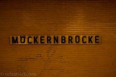 U-Bahn Moeckernbruecke - #city, #Schild, #sign, #Stadt, #Transportation, #Verkehrsmittel