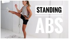 10 Minute Standing ABS WORKOUT // No Equipment The search engine that helps you find exactly what you're looking for. Find the most relevant information, video, images, and answers from all across the Web. 12 Week Workout Plan, 10 Minute Ab Workout, 10 Minute Abs, Ab Workout At Home, At Home Workouts, Walking Workouts, Workout Schedule, Workout Plans, Workout Challenge