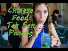 Eating delicious Malaysian Chinese Food at Tek Sen Restaurant in Georgetown - Penang, Malaysia - YouTube