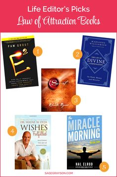 Check out my favorite law of attraction books that have helped me attract abundance in my life. Start manifesting your dreams!