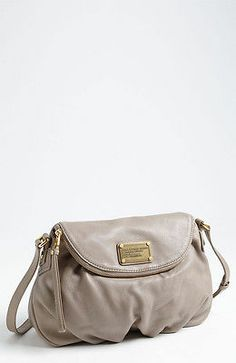 Marc by Marc Jacobs Classic Q Natasha Crossbody Bag Cement White | eBay
