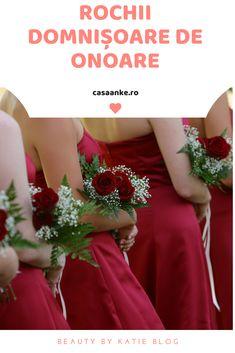 Te invitam sa afli despre noua noastra colectie de rochii pentru domnisoare de onoare. Casa Anke este locul in care poti gasi rochiile de domnisoare de onoare care sa se asorteze intre ele sau sa fie complementare cu rochia miresei. Rochiile de domnisoare de onoarepe care le punem la dispozitia ta, provin de la designeri romani si straini care pun pe primul loc calitatea la un pret corect, de aceea credem ca vei fi pur si simplu indragostita de modelele pe care ti le propunem. Crown, Formal Dresses, Red, Blog, Fashion, Dresses For Formal, Moda, Corona, Formal Gowns