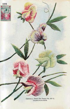 Corticelli XXVII 1898 by Embroiderist, via Flickr