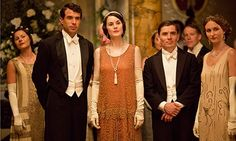 Downton Abbey goes to London. Photograph: Nick Briggs - Christmas Special. Includes spoiler.