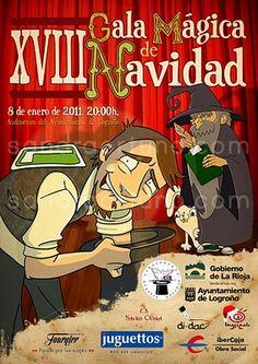 Poster commissioned by La Rioja Illusionist Circle (CIR) by Sandra Ortuño.