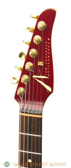 Tom Anderson Electric Guitars - 1998 Hollow Drop Top Koa | Reverb