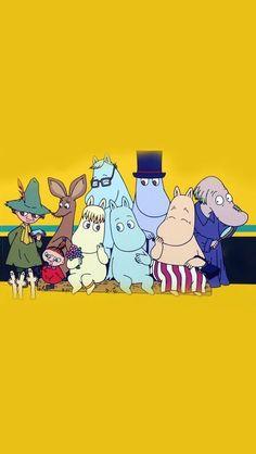 Moomin Wallpaper, Kawaii Wallpaper, Tove Jansson, Little My Moomin, Dreamcatcher Wallpaper, Rain Art, Image Paper, Book Art, Character Design