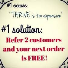 THRIVE IS TOO !EXPENSIVE! IS THAT YOUR EXCUSE? nbegil.Le-Vel.com