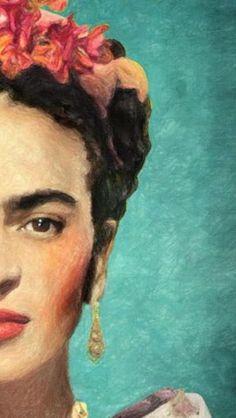 Frida Kahlo Artwork, Frida Kahlo Portraits, Kahlo Paintings, Frida Art, Famous Artists Paintings, Modern Art Paintings, Art Sketches, Art Drawings, Arte Van Gogh