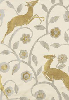 deer pattern (thisivyhouse)
