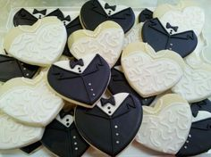 @Thea Carter's Bridal Shower cookies