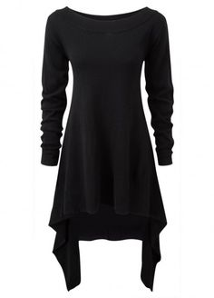 Killstar After Effect Knit Dress Black | Attitude Clothing
