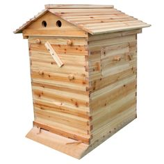 Get started with beekeeping with a honey flow bee hive. The beehive includes a top cover,roof, queen excluder, bottom board, honey super and brood box. Bee Hive Kits, Bee Hives Boxes, Honey Bee Hives, Honey Bees, Beekeeping Equipment, Bee Supplies, Bee House, Nesting Boxes, Metal Roof