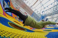 Toshiko Horiuchi MacAdam, Harmonic Motion / Rete dei draghi, Museo d'Arte Contemporanea Roma, 2013 - Playscapes