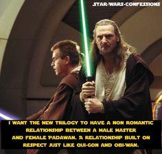 Like Ahsoka and Anakin